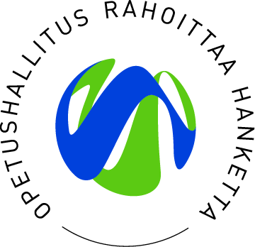 OPH rahoittaa hanketta -logo