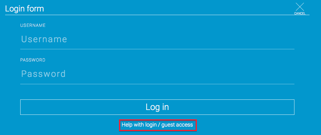 help with login